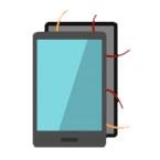 uszkodzona elektronika smartphone